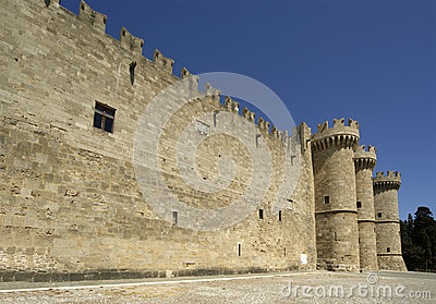 Rhodes Medieval Knights Castle, Greece