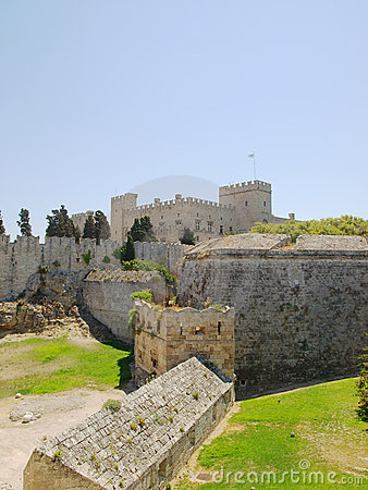 Rhodes old town walls
