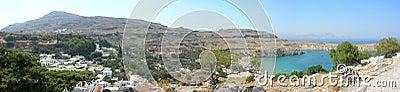 Rhodes panorama