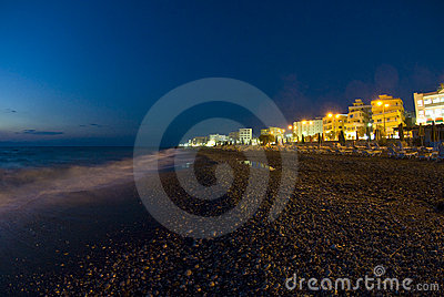 Rhodes shore