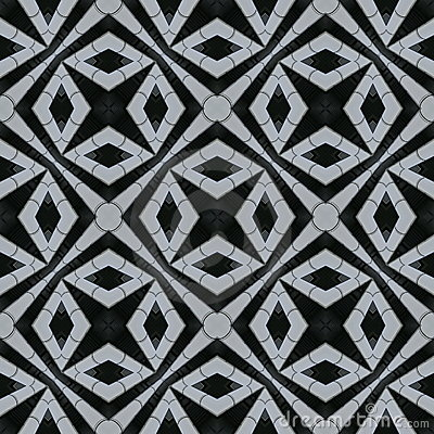Rhomb seamless repeat tile