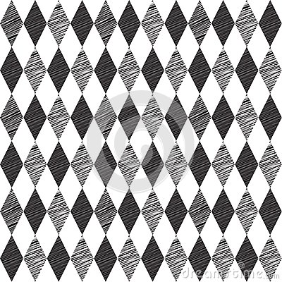 Rhombus retro seamless background