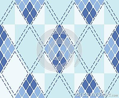 Rhombus seamless background