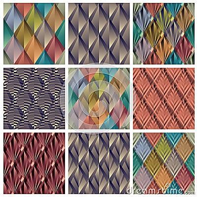 Rhombus tiles.