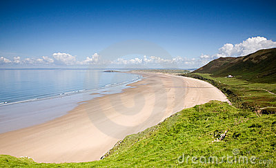 Rhossili Bay and peninsula