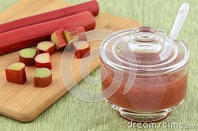 Rhubarb jam