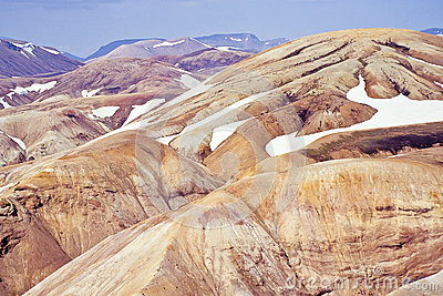Rhyolite mountains, Iceland