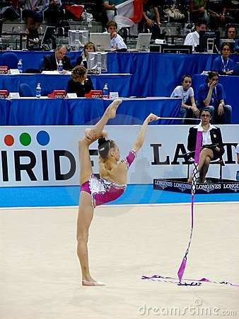Rhythmic Gymnastic Editorial Stock Image
