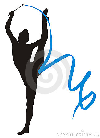 Free Rhythmic Gymnastic Stock Photography - 6148372