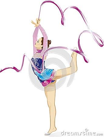 Free Rhythmic Gymnastic Royalty Free Stock Photos - 7721008