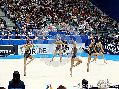 Rhythmic Gymnastic: Bulgaria Editorial Image