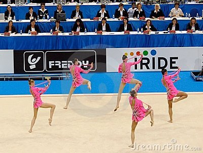 Rhythmic Gymnastic: Russia Editorial Photo