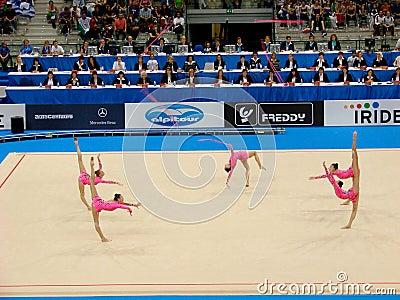 Rhythmic Gymnastic: Russia Editorial Image