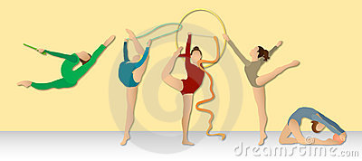 Rhythmic Gymnastics: Full Color Group