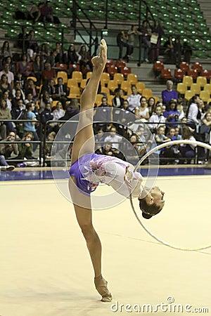 Rhythmic gymnastics Italian Championships Editorial Image