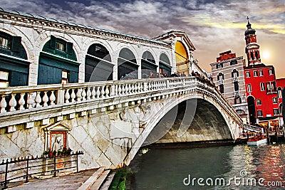 Изумляя Венеция, мост Rialto