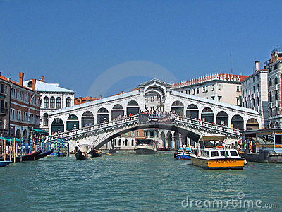 Rialto bridge Editorial Image