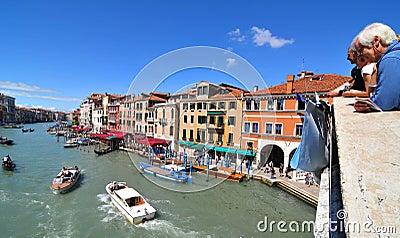 Rialto Bridge, Venice Editorial Stock Image