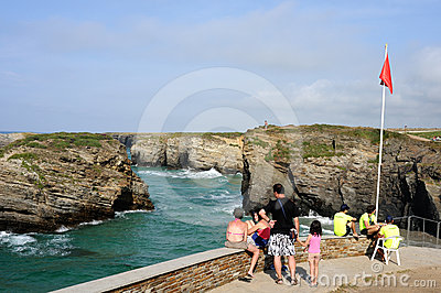Ribadeo- Spain Editorial Photo