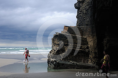 Ribadeo - Spain Editorial Image
