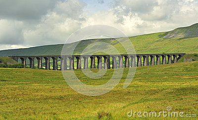 Ribblehead Viaduct, looking south, North Yorkshire