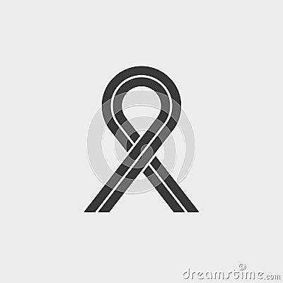Free Ribbon Aids Symbol Stock Photo - 114457460