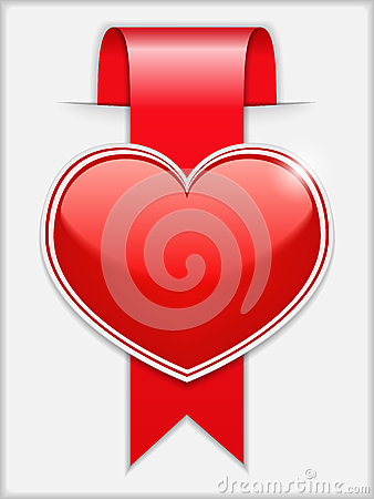 Ribbon with Heart