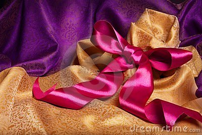 Ribbon and kerchief