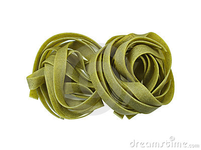 Ribbon-macaroni - isolated