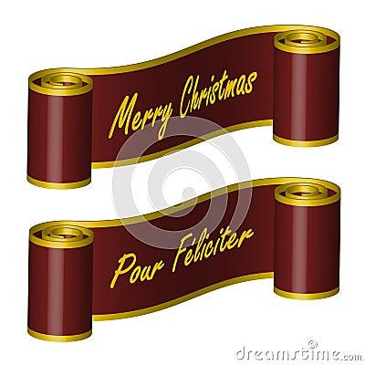 Ribbon – Merry Christmas, PF