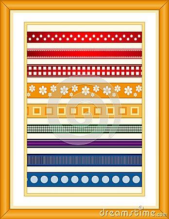 Free Ribbon Sampler Stock Photos - 4661803