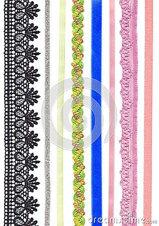 Free Ribbons And Braid. Stock Photos - 19594543