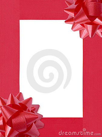 Ribbons&Bows Christmas Frame (+clipping path, XXL)