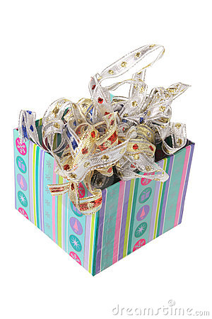 Ribbons in Gift Box