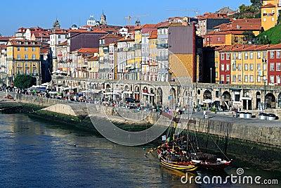 Ribeira, Porto Editorial Stock Image