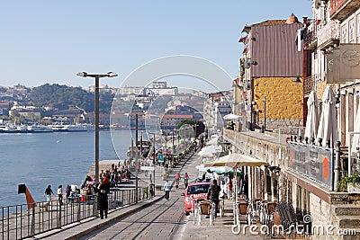 Ribeira of Porto Editorial Stock Photo