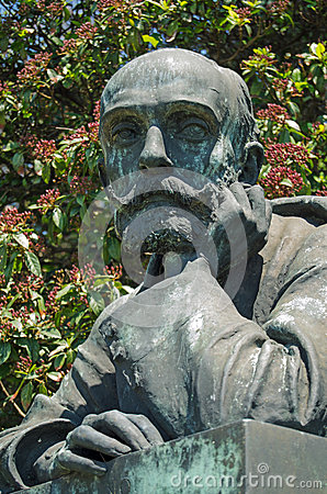 Riccardo Selvatico bust, Venice