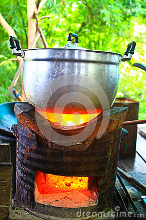 how to cook rice in a pot on the stove