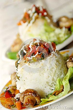 Rice dinner