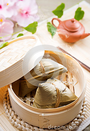 Free Rice Dumpling Royalty Free Stock Image - 31736156