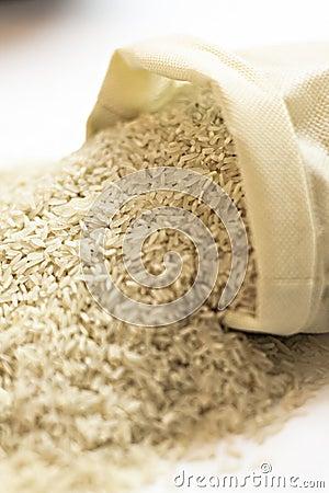 Rice Sack spilling