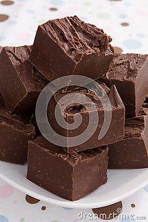 Free Rich Chocolate Fudge Stock Photos - 13193293