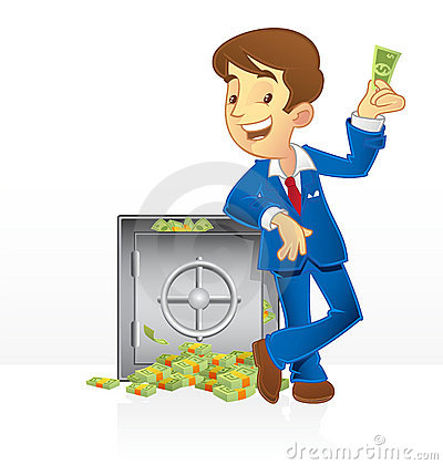 Rich man and his vault