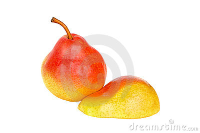 Rich pear and a half
