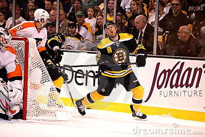 Rich Peverley Boston Bruins Editorial Image