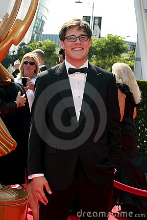 Rich Sommer, Calvin Klein Editorial Stock Image