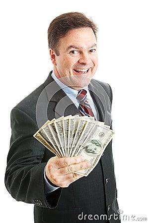 Rich Successful Businessman - Cash Money