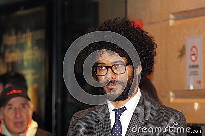 Richard Ayoade al Premiere sottomarino Immagine Editoriale
