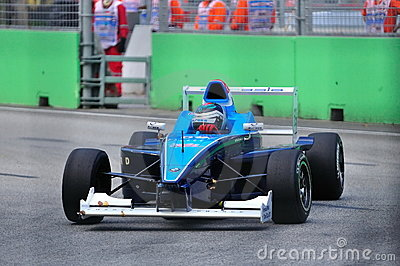 Richard Bradley at Formula BMW Pacific race Editorial Image