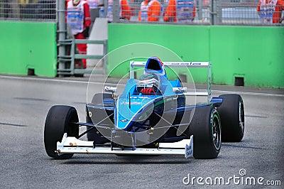 Richard Bradley at Formula BMW Pacific race Editorial Image